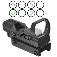 11MM 20MM Rail Riflescope Hunting Airsoft Optics Scope Holographic Red Dot Sight