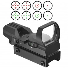 11MM 20MM Rail Riflescope Hunting Airsoft Optics Scope Holographic Red Dot Sight