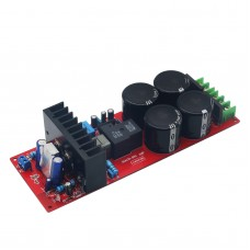 IRS2092 top Class D amplifier board (dual rectifier with protection)