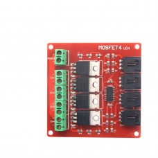 Arduino 4 Route MOSFET Button IRF540 V2.0+
