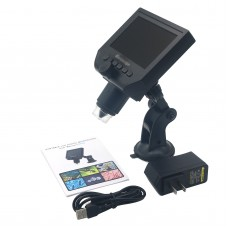 "Portable LCD Digital Microscope 4.3"" HD OLED 3.6MP 1-600X Magnification G600"
