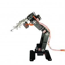 6DOF Mechanical Robot Arm Frame Clamp Claw Mount with KS3518 Servo for Robotics Arduino Raspberry Assembled