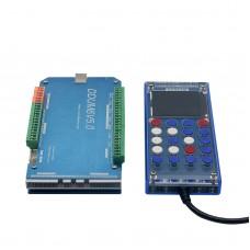 6 AXIS CNC 2000KHz USB Mach3 Card Controller Stepper Motor Driver+Mach3 Remote Control Handwheel