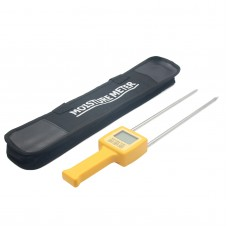 4 Digital LCD Grain Moisture Meter Detector LCD Display Humidity Tester Hygrometer Meter Range Temperature Compensation Function