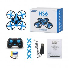 JJRC H36 Mini Drone 6 Axis RC Micro Quadcopters With Headless Mode One Key Return Helicopter Vs H8 Dron Best Toys For Kid