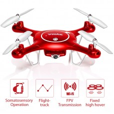 Syma X5UW Drone with WiFi Camera HD 720P Real Time Transmission FPV Quadcopter 2.4G 4CH RC Helicopter Dron Quadrocopter