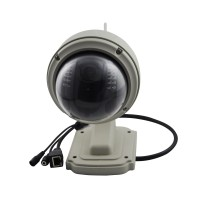 C7833WIP-X4 Outdoor ONVIF PTZ 4X Zoom P2P Plug Wireless WiFi HD 720P IP Dome Camera Micro SD Card