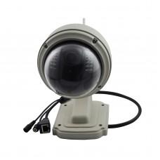 C7833WIP-X4 Outdoor ONVIF PTZ 4X Zoom P2P Plug Wireless WiFi HD 720P IP Dome Camera Micro SD Card