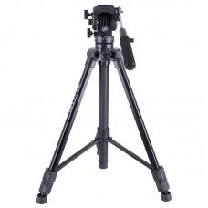 Kingjoy VT-1500 Aluminum Video Camera Studio Photo Tripod Fluid Head for Film Video Shooting
