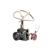 Tarot TL300M5 5.8G 25mW 48CH Integrated Mini Tiny AV Transmitter TX with 600TVL Camera for DIY Racing Drone FPV