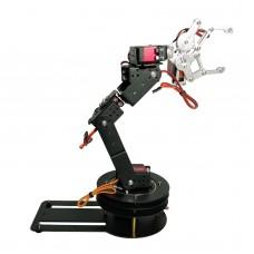6 DoF Robot Mechanical Arm Manipulator Single Frame with 6PCS MG996R Servo 6PCS Servo Horn