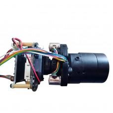 "5-50mm H.265 IP Camera 4MP PTZ Control Motorized Zoom Lens 1/3"" CMOS OV4689 + Hi3516D IPC Module Board"