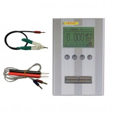 Digital Bridge LCR Metetr Resistor Inductance Capacitance Tester + Kelvin Clip