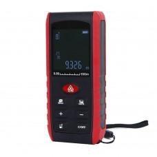 KXL-E100 Digital Laser rangefinder Distance Meter Range Finder Area Volume Measurement with Angle Indication 100 M
