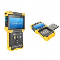 CCTV 1080P IP + Analog Camera 4.0-inch Handheld HD Combine Tester Support ONVIF