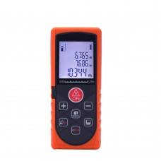 KXL-Q120 Laser Distance Meter 120M Rangefinder Range Finder Digital Tape Ruler Measure Area Volume Tool