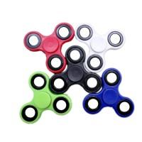 Fingertip Gyroscope Tri-Spinner Fidget Toy Plastic EDC Hand Spinner for Autism ADHD Hand Spinner EDC Sensory Fidget Spinners