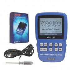 VPC100 HandHeld Vehicle Pin Code Car Calculator with 500 Tokens