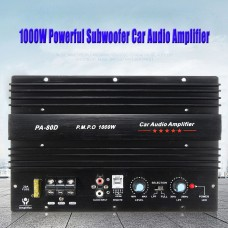 Car Audio Amplifier Board Power 12V 1000W Mono Powerful Bass Subwoofers Amp PA-80D