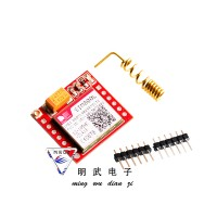 Mini SIM800L GPRS GSM Module MicroSIM Card Core Board Quad-Band TTL Serial Port