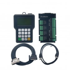CNC Router A18S 4 Axis Linkage Motion Control System DSP Handle Controller for Engraving Machine