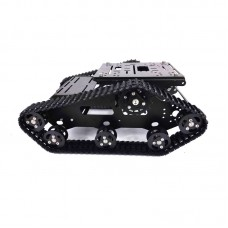 TR-300 Diplopore Plastic Chassis Tank 12V 24V 37 Motor for Competition