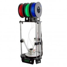Geeetech Delta Rostock 3D Printer 3-in-1-out Mix Colors Printing GTM32 Board LCD