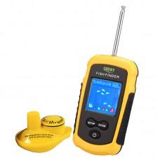 Wireless Sonar Fish Finder Water Resistant 40M 120FT Depth Sonar Sounder Alarm