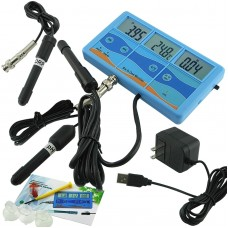 Six In One PHT-027 °C °F ORP mV EC CF TDS Meter Water Quality Monitor Tester Thermometer
