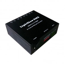 LightShow DMX DMX512-CYTS008 8-Channel Relais Control Relay Switch Controller for KTV Bars