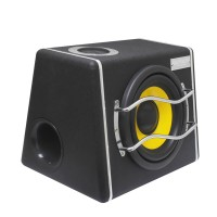 8.0 Inch Large Power 400W 12V/24V Subwoofer Trapezoidal Speaker Ordinary Type for Cars