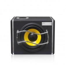 8.0 Inch Large Power 400W 12V/24V Subwoofer Trapezoidal Speaker Plug Card Bluetooth