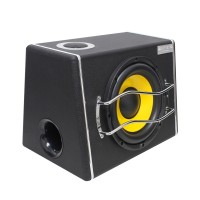 10.0 Inch Large Power 400W 12V/24V Subwoofer Trapezoidal Speaker Plug Card Type Bluetooth