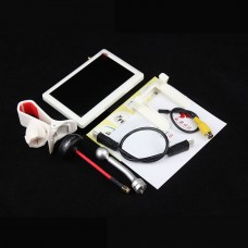 OM Multi-Axis FPV 5.8G Receiver HD HDMI 5.0 Inch Display Aerial Little Pilot for Quadcopter