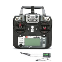 Flysky FS-i6X 6CH 2.4GHz AFHDS 2A RC Transmitter With FS-X6B Receiver for Drone