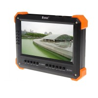 "X41TAC V5.4 7"" LCD Monitor HD-TVI 3.0+AHD+HDMI+VGA+CVBS Camera Test Video CCTV Tester"