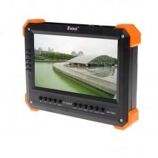 """X41TAC V5.4 7"""" LCD Monitor HD-TVI 3.0+AHD+HDMI+VGA+CVBS Camera Test Video CCTV Tester"""