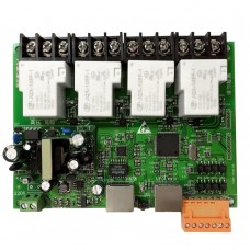 4 Channel Network Relay Panel Support Centralized Control Remote Control APP Light Controller