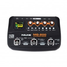 Nux MG-200 Guitar Modeling Processor Guitar Multi-Effects Processor 55 Models