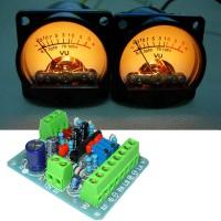 Audio Lever Power VU VU Backlight Meter DC 500μA Driver Board Kit