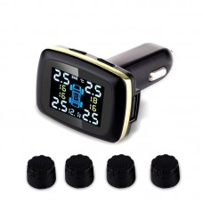Tire Pressure Intelligent Monitoring System Car Auto Security Alarm 433.92MHZ External Sensor