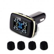 Tire Pressure Intelligent Monitoring System Car Auto Security Alarm 433.92MHZ External Sensor