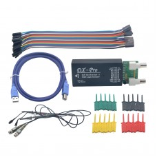USBee DX USB Virtual Oscilloscope 16CH Logic Analyzer + Converter Board & Tester Tip for Can Bus CAN RS232 RS485 Test
