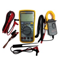 Fluke 17B+Digital Mutimeter F17B Meter AC DC Voltage Current + AC Transducer