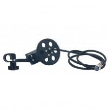 Wireless Follow Focus Motor Electronic Control Gear Holder for 0.8 Model Gear