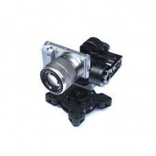 3 Axis Brushless Gimbal PTZ BMPCC G4  Sony NEX5/6/7 with Motor Control Board
