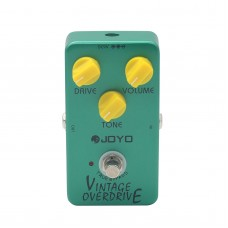 JOYO JF-01 Vintage Overdrive Electric Guitar Effect Pedal True Bypass Dynamic Compression