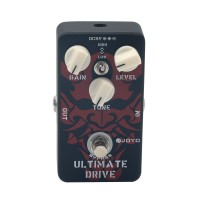 JOYO JF-02 True Bypass Design Ultimate Drive Guitar Effect Pedal with 3 Knobs