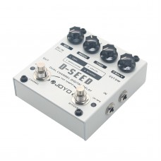 JOYO D-SEED Dual Channel Digital Delay Guitar Effects Pedal Analog Guitarra Stompbox True Bypass