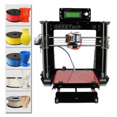 Geeetech Acrylic Reprap Prusa I3 All Metal Parts Pro B 3D Printer DIY Pinter